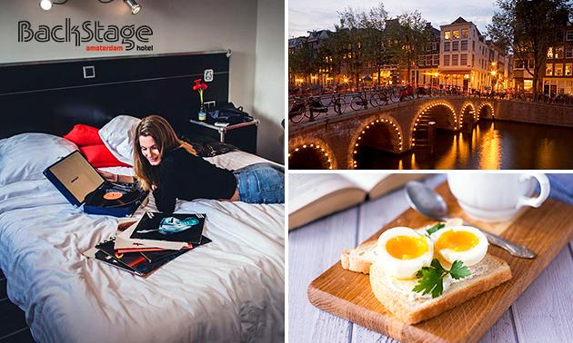 Übernachtung + Frühstück + Sekt für 2 in Amsterdam