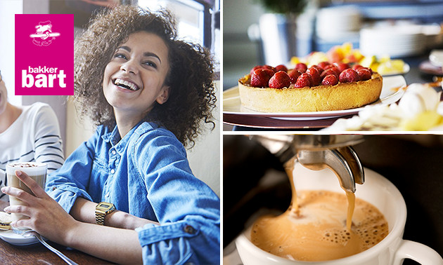 Bakker bart geldrop koffie gebak voor 2 bij bakker bart for Bakker in de buurt