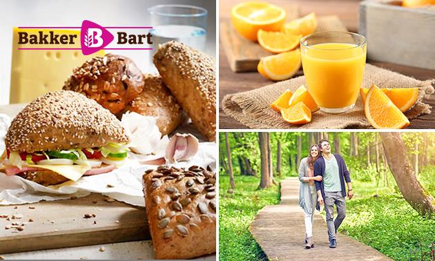 Wandelarrangement incl. lunch to go van Bakker Bart