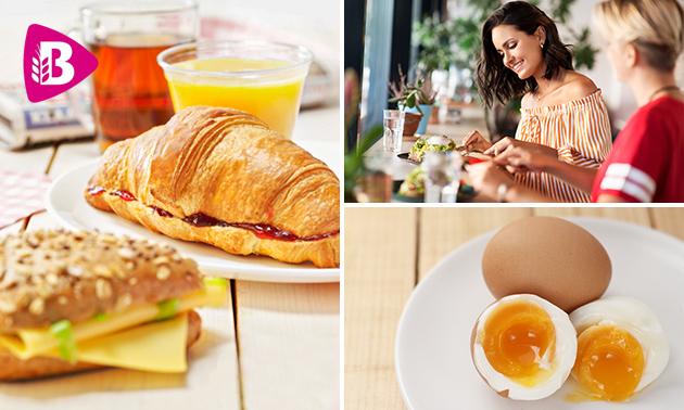 Thuisbezorgd of afhalen: luxe ontbijt van Bakker Bart