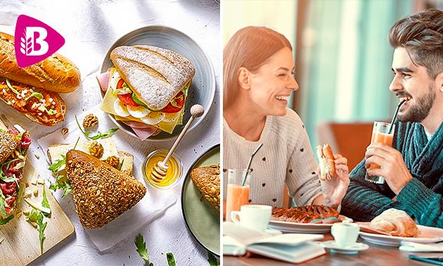 Thuisbezorgd of afhalen: ontbijt/lunch bij Bakker Bart