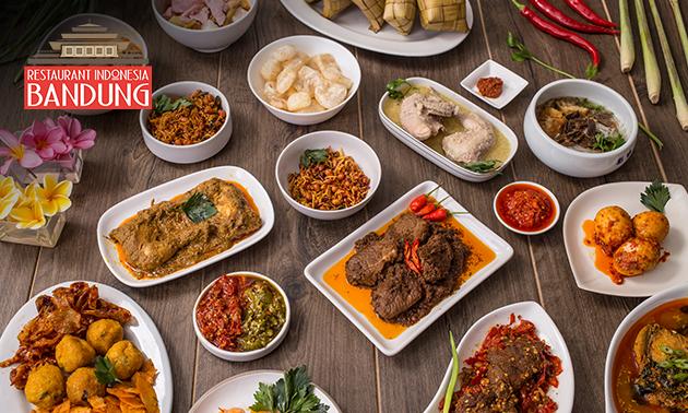 Afhalen: Indonesische rijsttafel