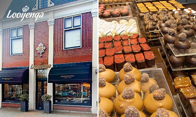 Afhalen: 300 gram bonbons naar keuze bij Looijenga