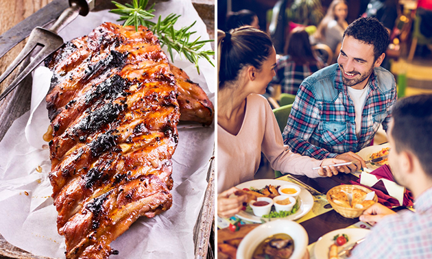 All-You-Can-Eat spareribs (2 uur)
