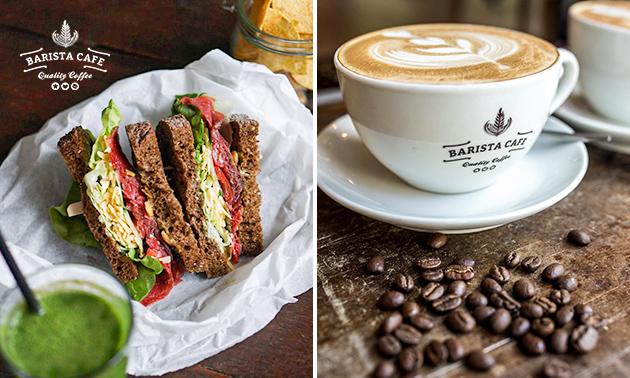 Brunch + koffie bij Barista Café