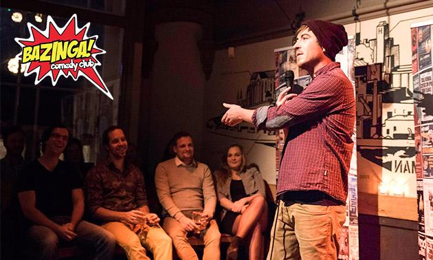 Voorstelling naar keuze bij Bazinga Comedy Club
