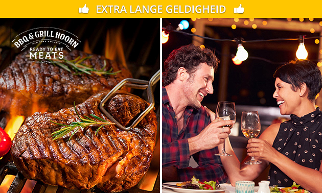 All-You-Can-Eat barbecue (2,5 uur)