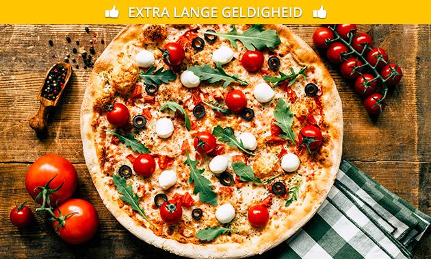 Afhalen: pizza + frisdrank naar keuze in hartje Zwolle