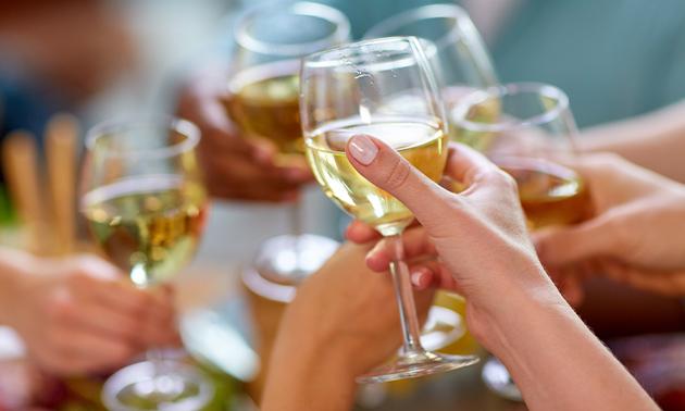Wijn- of limonadeproeverij + bijpassende hapjes