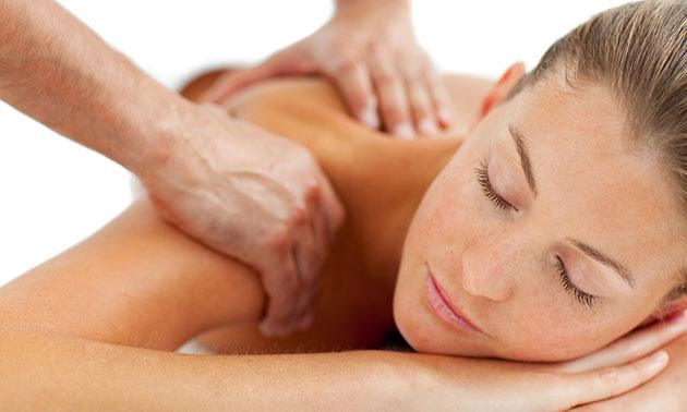 Rug-, nek- en schoudermassage