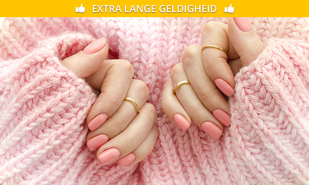 Gellak en/of gelnagels