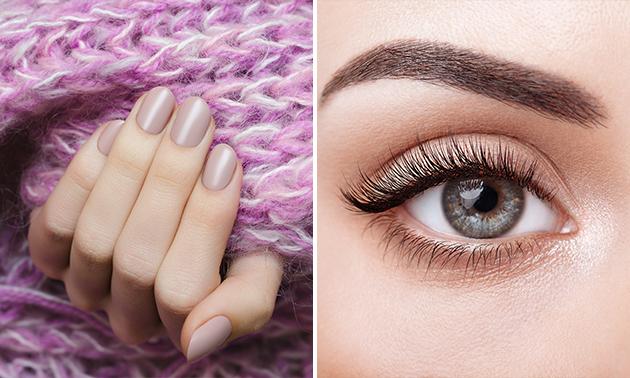 Gellak + e-manicurebehandeling óf lashlift + verven
