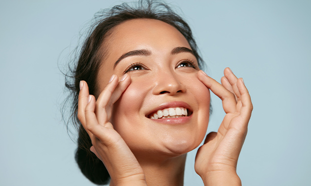 Anti-aging gezichtsbehandeling met goud