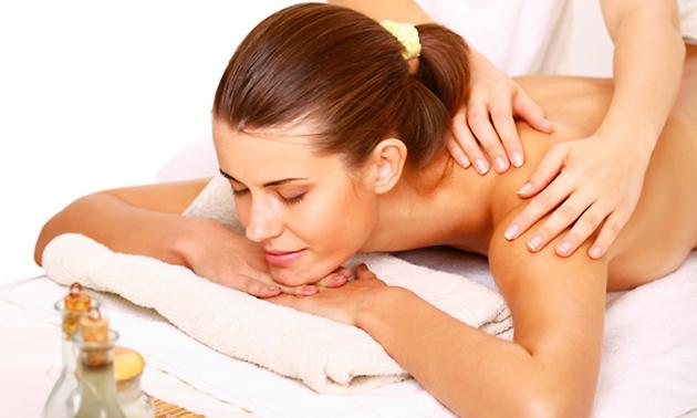 AromaTouch massage met etherische oliën
