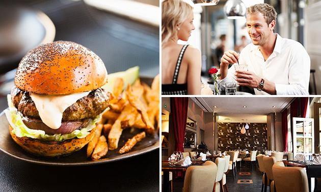 Burger à la carte + frites + apéritif au coeur de Bruxelles