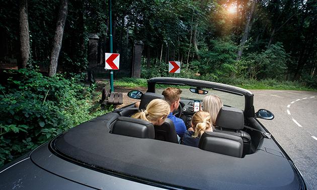 Auto-speur-en-belevingsrally voor 2-5 personen