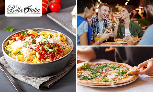 3-gangendiner (50+ keuzes) bij Bella Italia