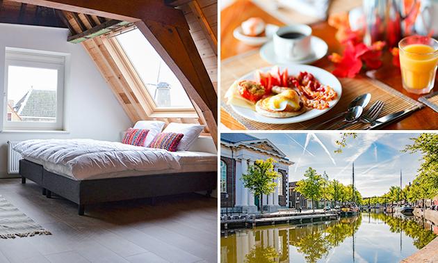 Overnachting voor 4 personen + ontbijt in Schiedam
