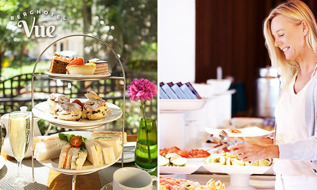 Ontbijtbuffet of high tea bij Brasserie Vue