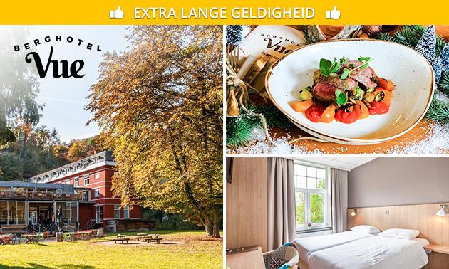Hotelovernachting(en) + ontbijt voor 2 bij Berghotel Vue