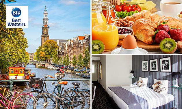 Overnachting + ontbijt voor 2 of 4 personen in Uithoorn