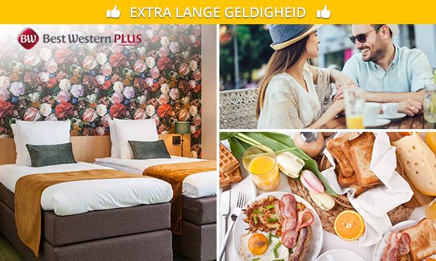1 of 2 overnachtingen + ontbijt voor 2 in Amstelveen