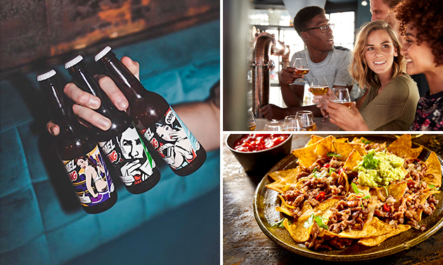 Bierproeverij + evt. nacho's in hartje Den Haag