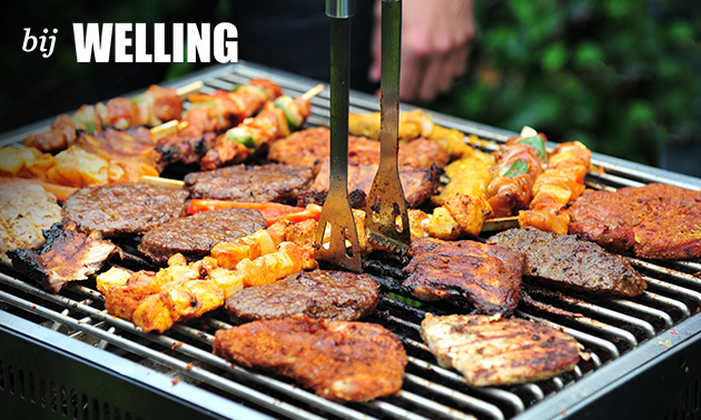 Afhalen: uitgebreid BBQ-pakket