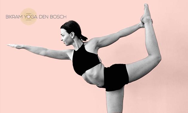 5 lessen hot yoga naar keuze (60, 75 of 90 min)