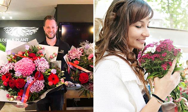 Waardebon voor bloemen