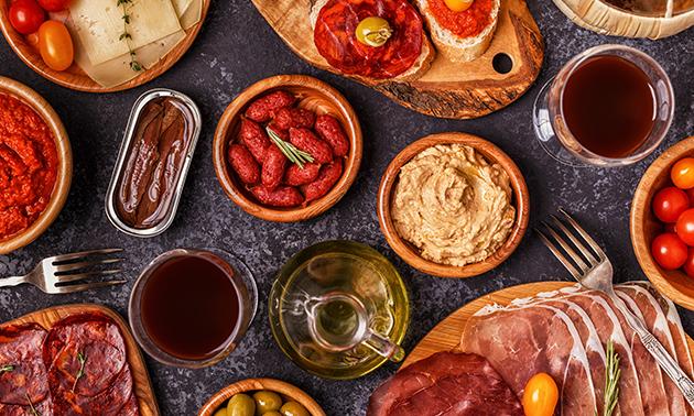 Afhalen: Argentijns proeverijdiner (10 gerechten)