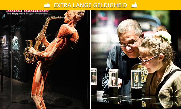 Entreeticket voor BODY WORLDS