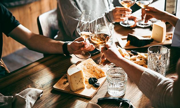 Wijnproeverij voor 4 tot 8 personen bij jou thuis