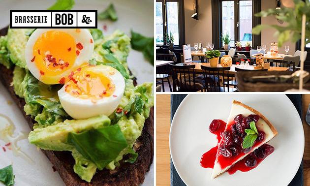 Lunchproeverij + dessert in hartje Den Bosch