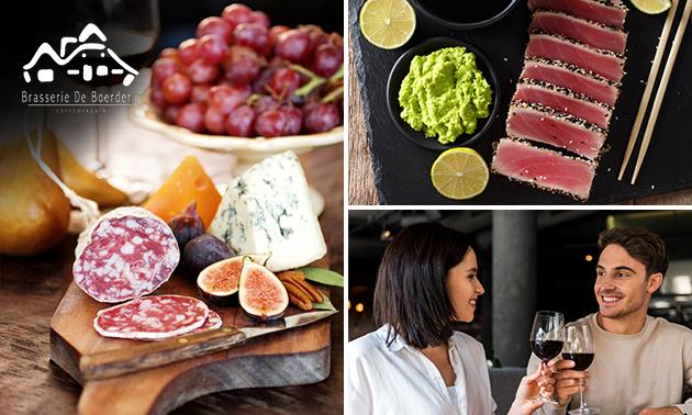 Afhalen: high wine voor 2 bij Brasserie de Boerderij