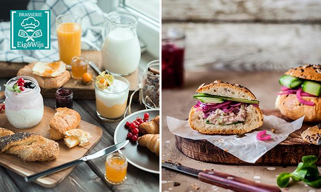 Thuisbezorgd of afhalen: compleet ontbijt of lunch