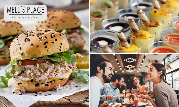 Lunchproeverij bij Brasserie Mell's Place