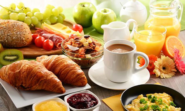 Luxe ontbijt aan zee in Scheveningen