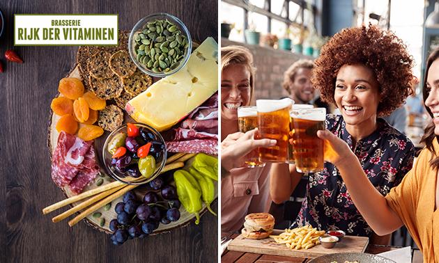 Compleet borrelarrangement bij Rijk der Vitaminen