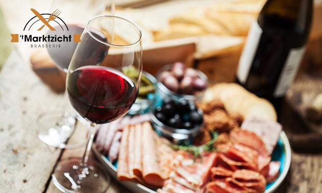 Afhalen: borrelpakket + wijn van 't Marktzicht