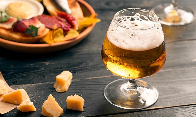 Bierproeverij + hapjes in hartje Delft