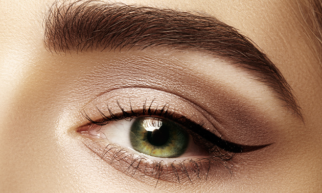 Henna brows of permanente make-up naar keuze