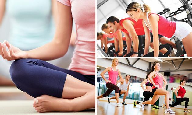 10x fitness of groepsles naar keuze