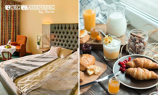 Übernachtung(en) + Frühstück für 2 in der Burg Wassenberg