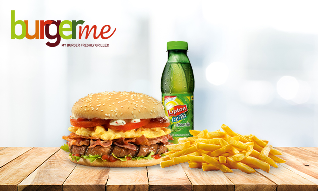 Hamburger + friet + frisdrank in hartje Venlo