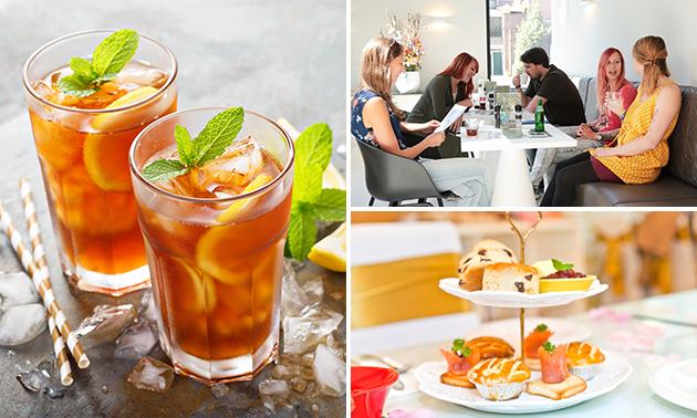 Zomerse high tea bij Café Cunen
