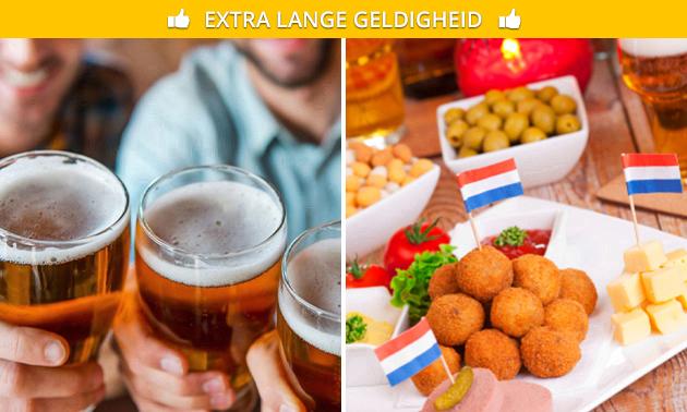 Bierproeverij + hapjes in hartje Roosendaal