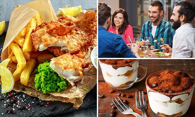 Burger + nagerecht + speciaalbier in hartje Delft