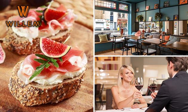 3-gangen keuzediner bij Café Willem