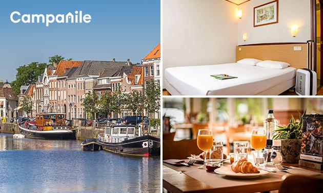 Overnachting voor 2 + ontbijt in Zwolle